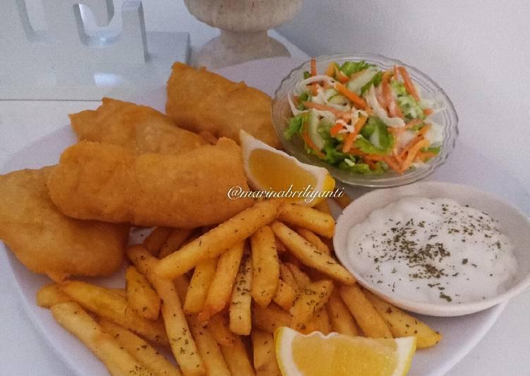Fish and Chips a la Resto