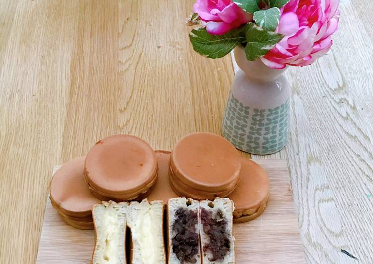 Simple Way to Make Super Quick Homemade Imagawayki / Japanese stuffed pancake