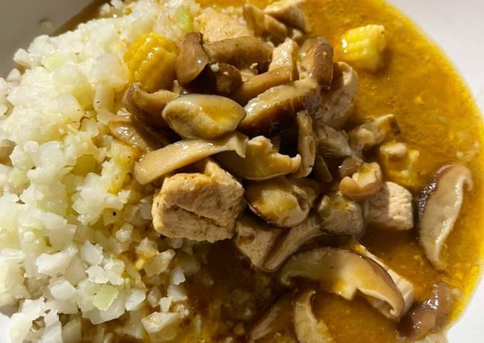Shiitake Mushroom Curry