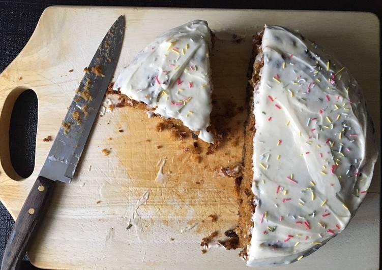 Recipe of Super Quick Homemade My carrot cake