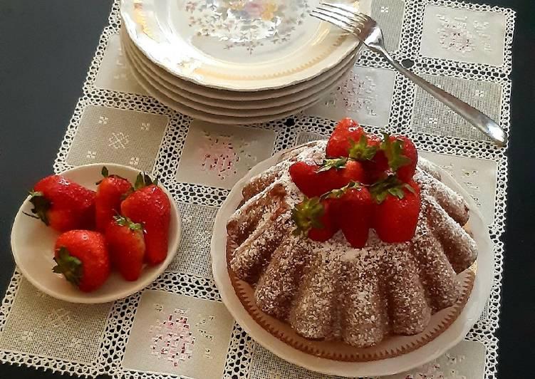 Ricetta Torta dolce effetto budino