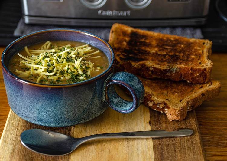 Vegan French Onion Soup, Heart Friendly Foods You Need To Be Eating