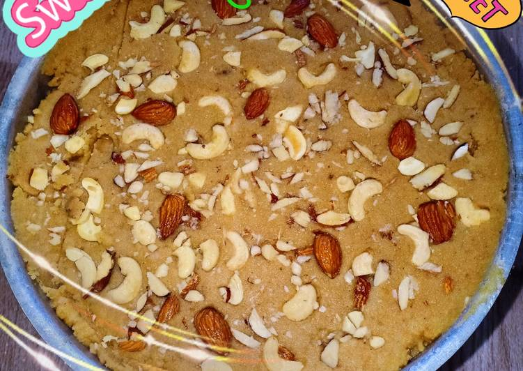 Recipe: Tasty Healthy sweet of Gujarat. SUKHADI