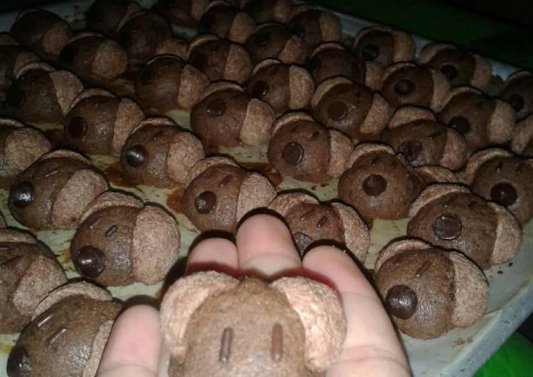 Resep Kue Kering: Choco Crunch oleh Novita Sari - Cookpad