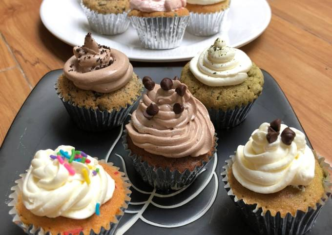 Resep SOFT CUPCAKES 🧁 – Syuper Easy, and Delicious…