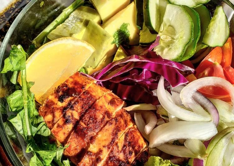 Chicken avocado salad #myvalentinesrecipecontest