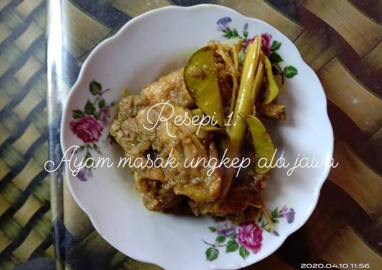 Ayam masak ungkep ala jawa - velavinkabakery.com