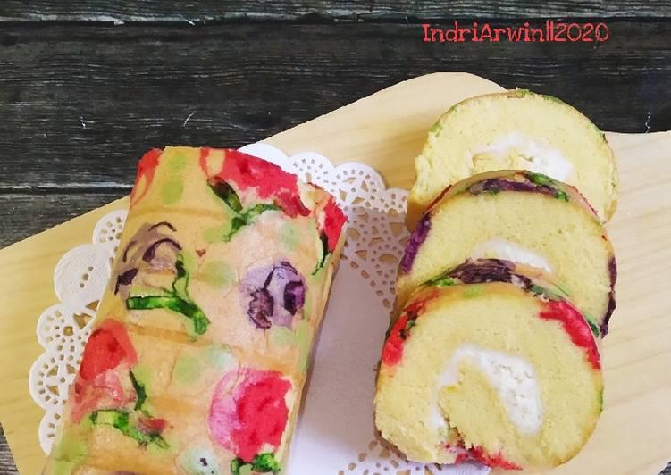 resep mengolah Roll Cake Jelita - Sajian Dapur Bunda