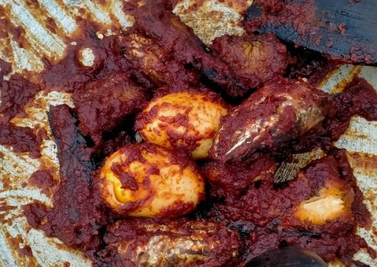 Haruan + tigu masak habang