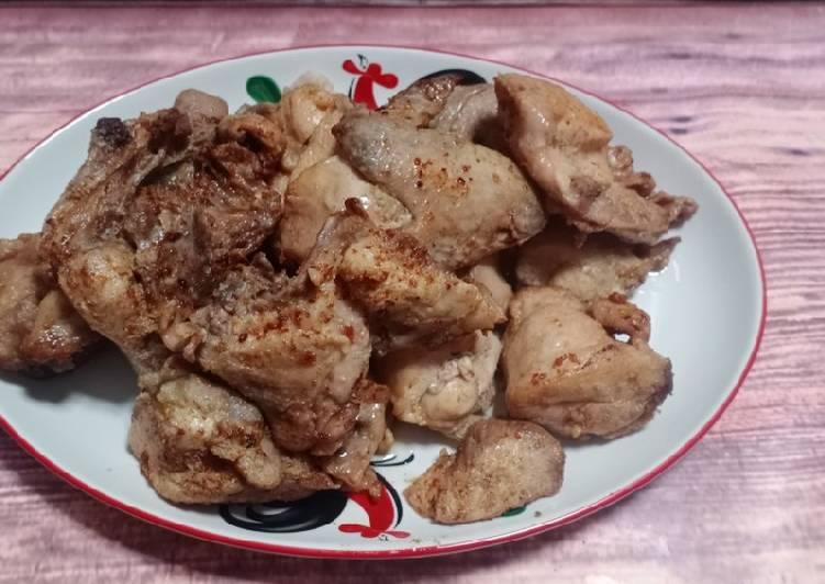 Ayam pop rumahan ala mamak