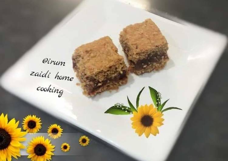 How to Make Homemade 🍫🌴🌰🌴Date Oatmeal and Nut Bar🌴🌰🌴🍫