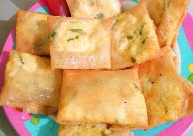 Recipe Yummy Lumpia Isi Tahu Life Style News