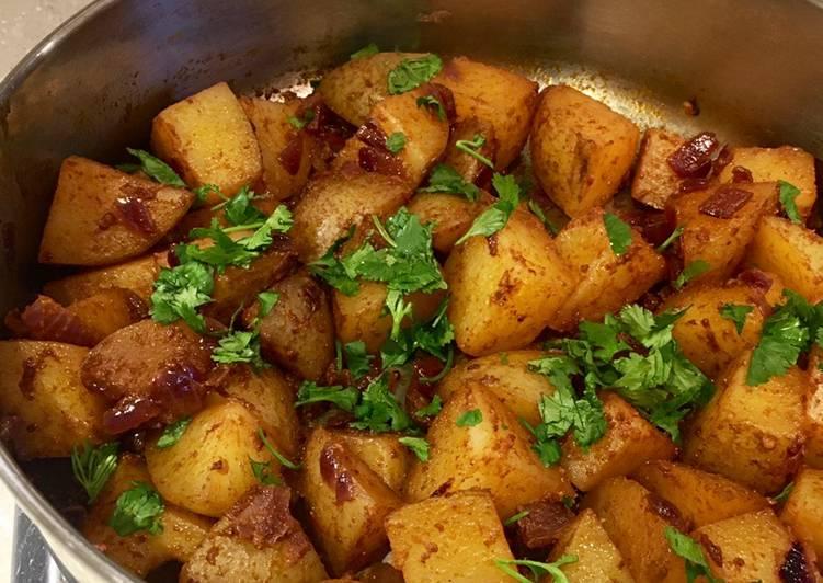 Recipe of Homemade Mexican Potatoes 🥔🌶 🇲🇽