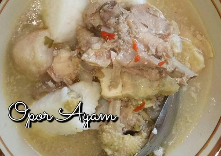 Opor Ayam Ras