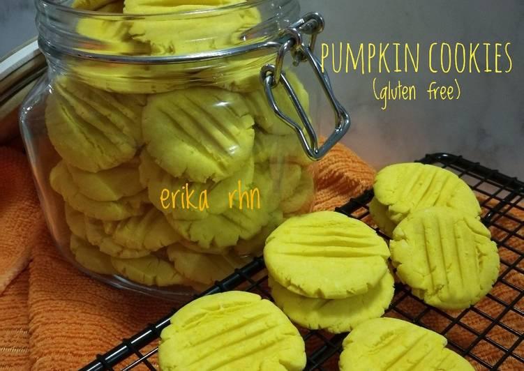 Resep Pumpkin Cookies (gluten free) yang Menggugah Selera