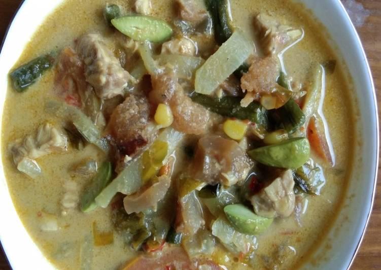 Lodeh Manisa (Labu Siam) Kaya