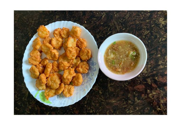 How to Prepare Quick Fried Potrimp with spicy sour sauce