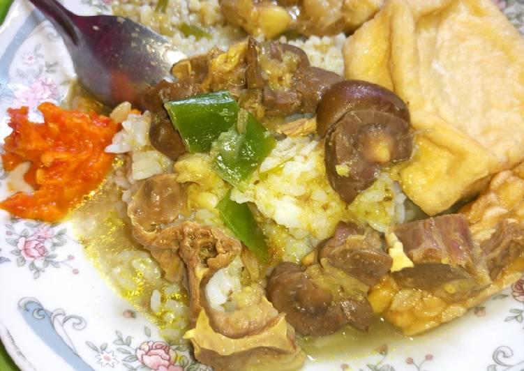 Soto daging sapi mix jeroan sapi