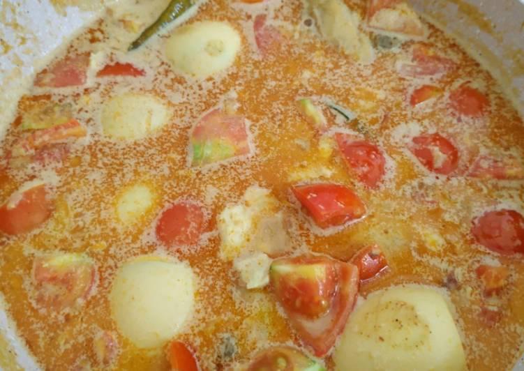 Kari Ayam Telur - cookandrecipe.com
