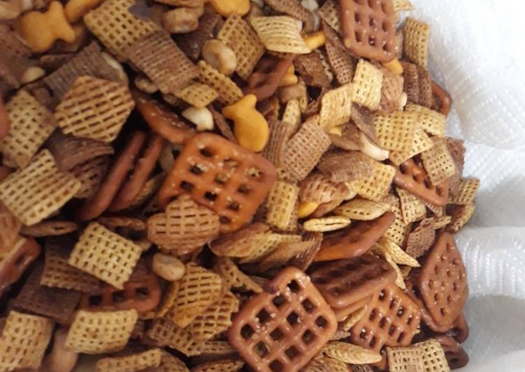 Classic Holiday Chex Mix Recipe