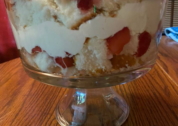 Recipe of Ultimate Easy strawberry shortcake