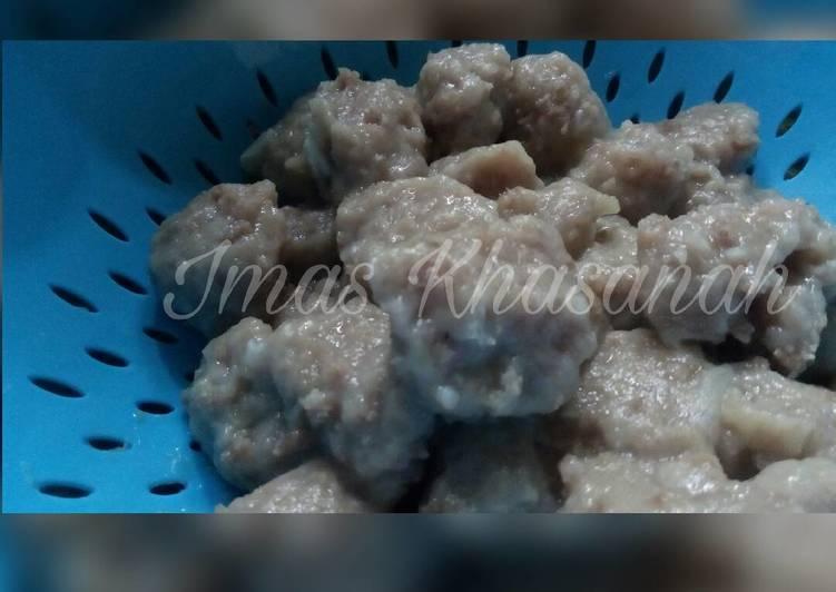 Resep Pentol Kanji Daging Oleh Imas Khasanah Cookpad