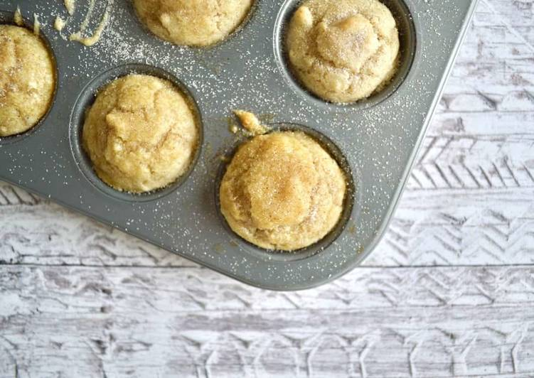 How to Make Super Quick Homemade Mini Cinnamon Sugar Muffins