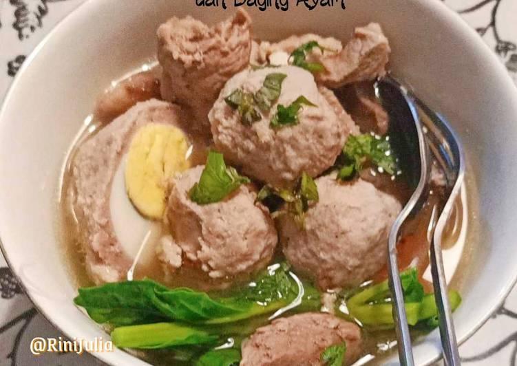 Bakso Campuran Daging Sapi & Ayam (Blender)