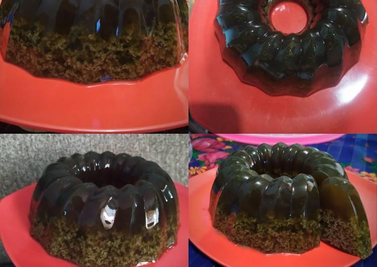 Resep Pudding Lumut, Menggugah Selera