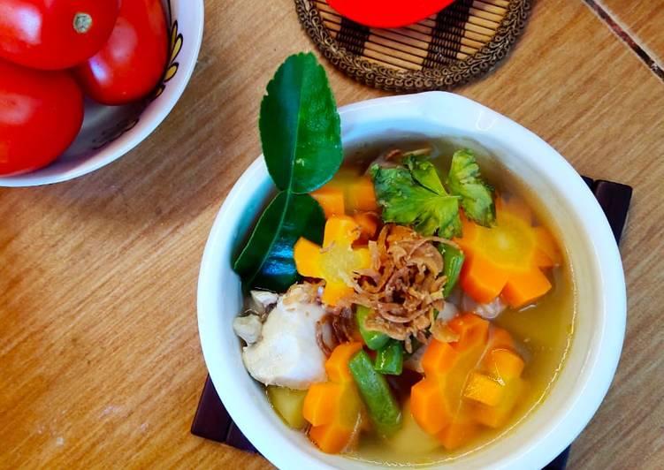 Sup Ayam Klaten Simple
