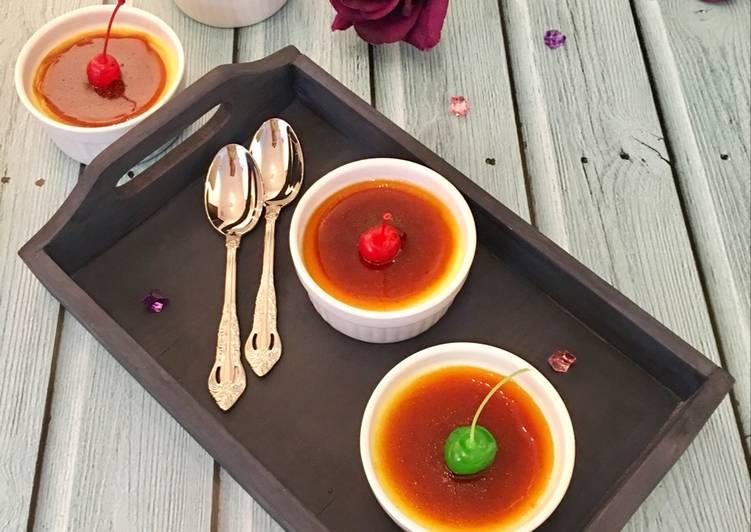Créme Caramel (Caramel Pudding)