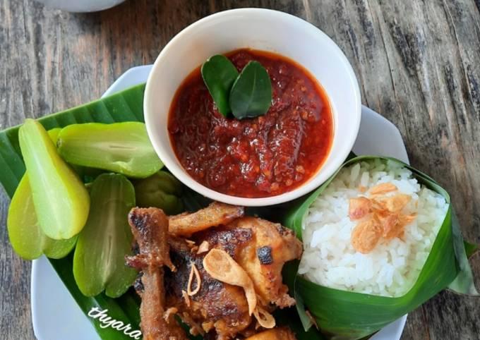 Ayam Bakar Solo & Sambal Terasi