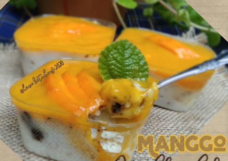 Manggo Oreo Cheese Cake