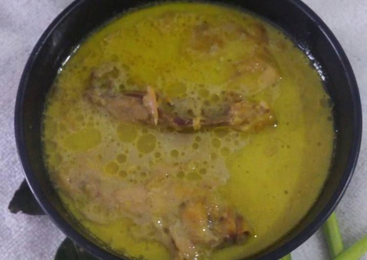 Opor Ayam ala Dapur Saya