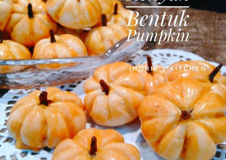 63. Nastar Renyah Bentuk Labu (Pumpkin) Gaya Ndi - cookandrecipe.com