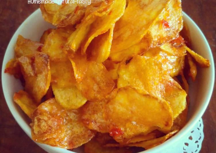 11 Resep: Kentang Crispy Balado yang Sempurna!