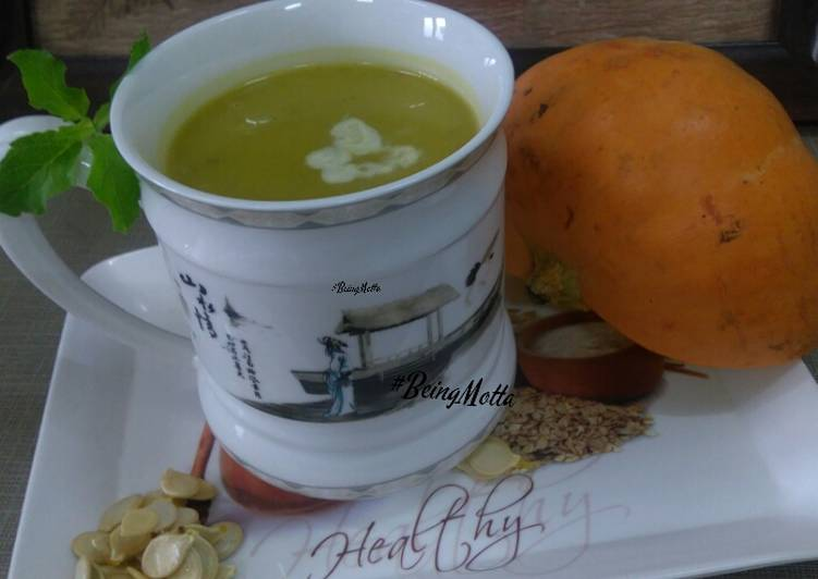 Red Pumpkin Soup - Laurie G Edwards