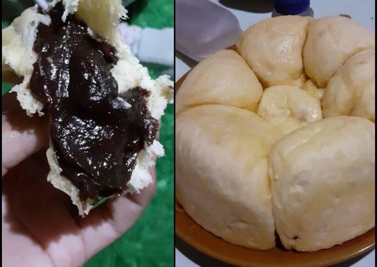 Roti sobek isi coklat