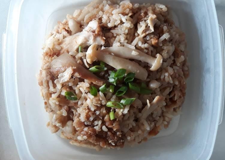 Nasi Ayam KFC Rice Cooker