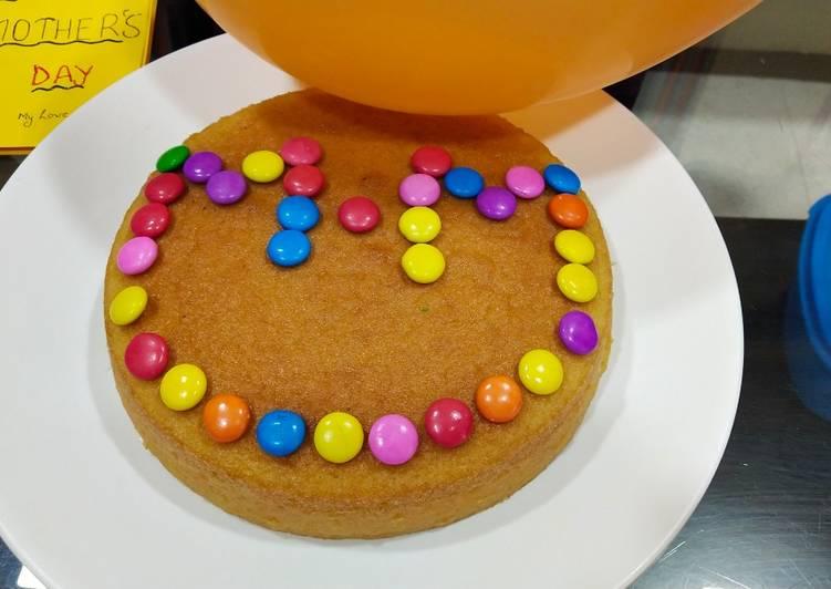 Vanilla basic sponge cake