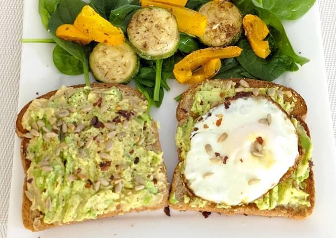 How To Make Healthy Avocado Toast! Step by Step