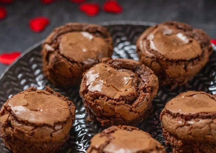 Muffins au chocolat fondant sans gluten