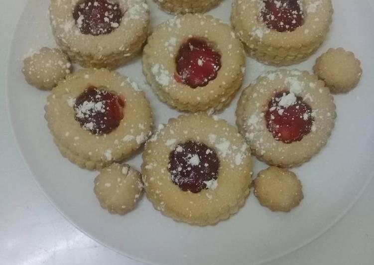 Jam filled Rich cookies. # cookiescontest#