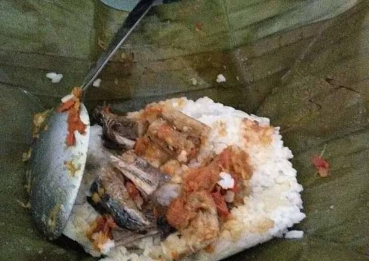 Nasi gegok khas trenggalek