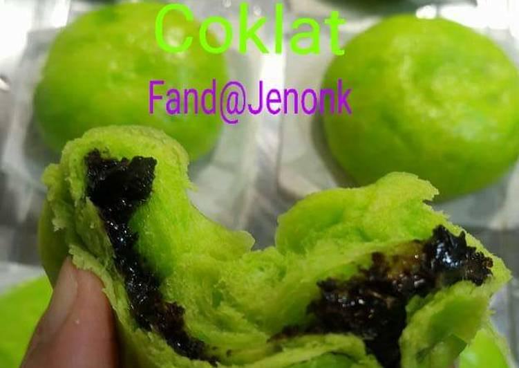 Resep Bapao pandan isi coklat Paling dicari