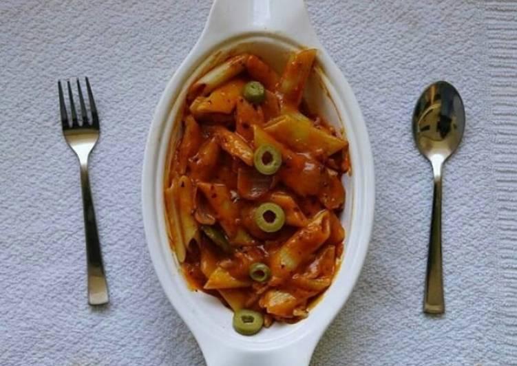 Spicy margarita pasta