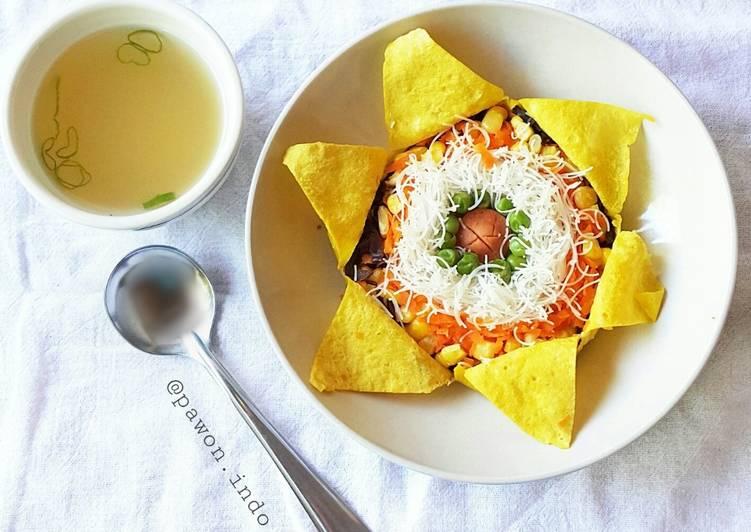 Step-by-Step Guide to Prepare Homemade Sunflower Soup (Sup Bunga Matahari)