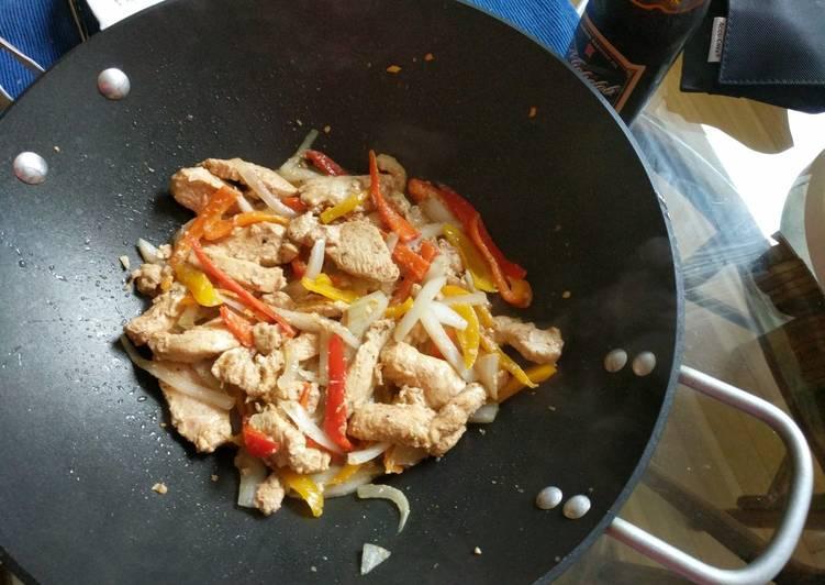Recipe: Delicious Chili's Fajitas