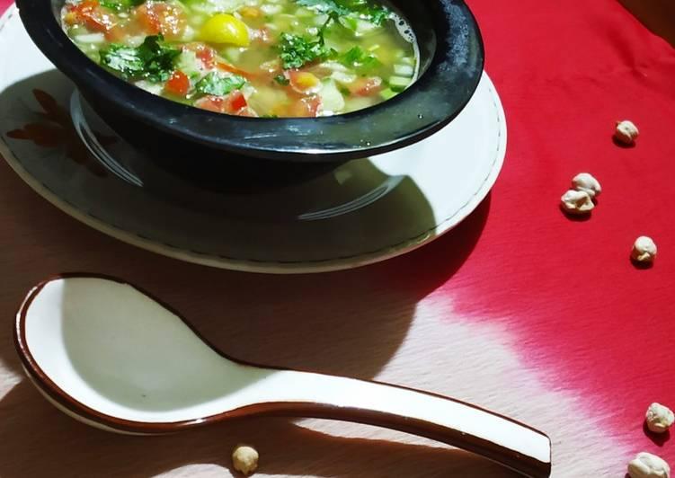 Chhole Soup