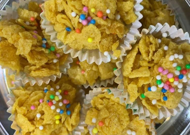 Honey Joy (Cornflake Cookies)